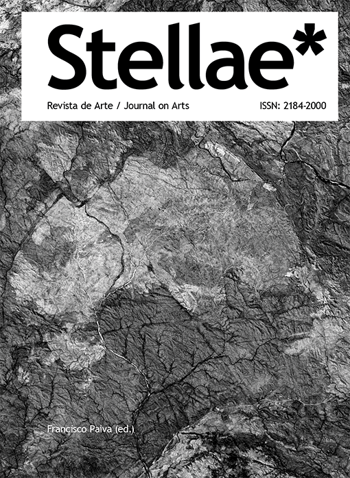 Capa: Francisco Paiva (ed.) (2020) Stellae* Revista de Arte / Journal on Arts. Communication  +  Philosophy  +  Humanities. .